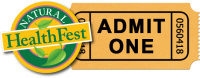 Natural HealthFest Ticket