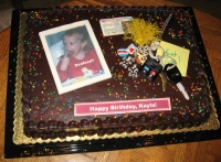 Kayla's 16th Birthday cake